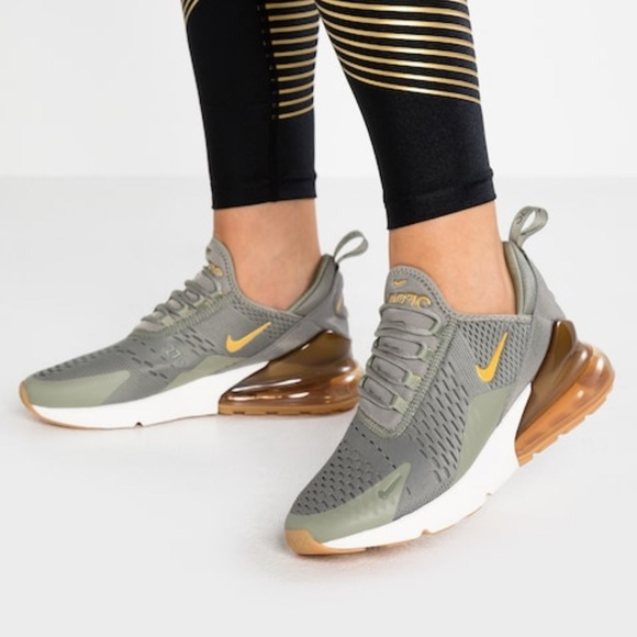 Nike Shoes | Air Max 270 Olive Women 7 | Poshmark